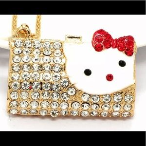 Hello Kitty Wallet Chain Necklace